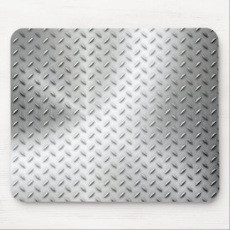 Steel background mouse mat