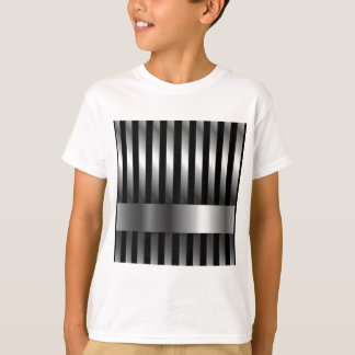 steel bars background T-Shirt