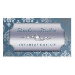 Steel Blue Dashing Damask Fashion/Interior Design
