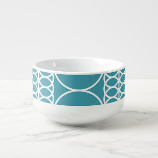 Steel Blue Soup Mug by Florence Dashiell