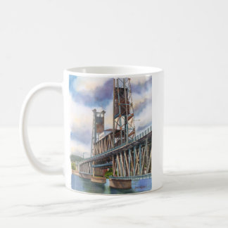 Steel Bridge in Portland, Oregon Coffee Mug