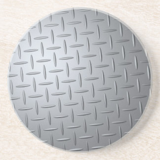 Steel Checker Plate Coaster