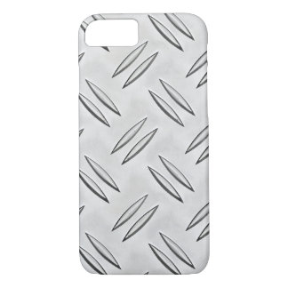Steel checker plate texture iPhone 7 case