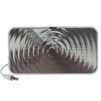 Steel Circular Metal Waves Speaker