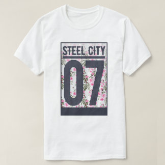 Steel City | Floral Print T-Shirt