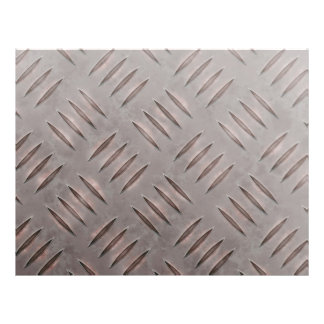 Steel Diamond Plate Texture Flyers