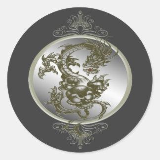 Steel Dragon Stickers