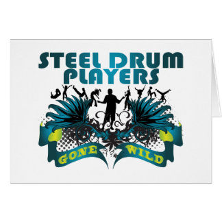 Steel Drum Players Gone Wild Card