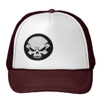 Steel-Grit Board Cap-SKULL LOGO ONLY Hats