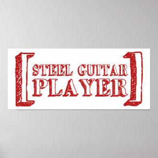 Steel Guitar Player Print