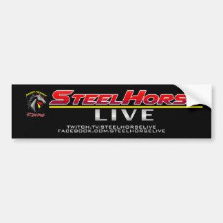 Steel Horse LIVE Decal Bumper Sticker