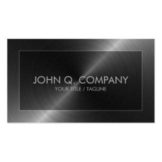 Steel Look Business Card
