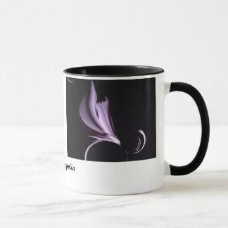 Steel Magnolia Abstract Mug