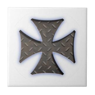 Steel Maltese 416 Small Square Tile
