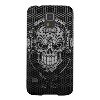 Steel Mesh DJ Sugar Skull Galaxy S5 Cover