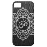 Steel Mesh Floral Om Case For The iPhone 5