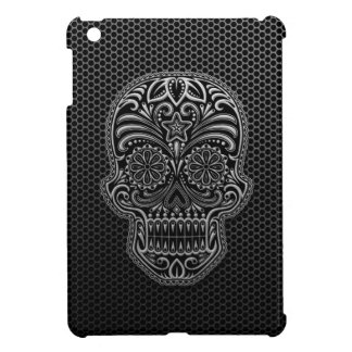 Steel Mesh Sugar Skull iPad Mini Cases