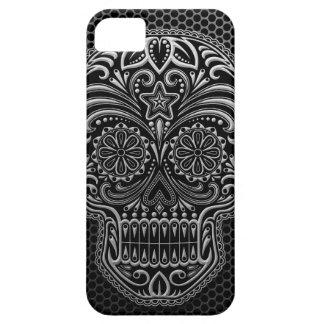 Steel Mesh Sugar Skull iPhone 5 Case