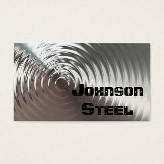 Steel Metal Business Cards