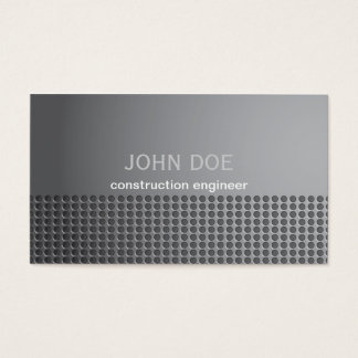 Steel Metal Effect Business Card