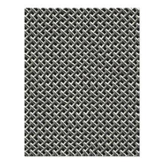 Steel Metal Mesh Pattern faux Announcements