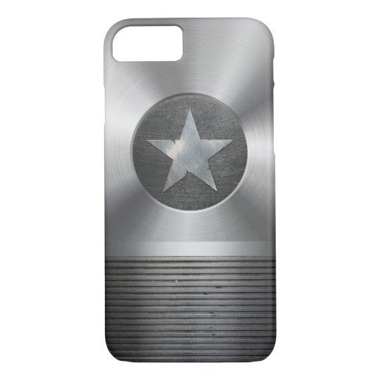 Steel & Metal Superhero Star Shield iPhone 7 Case