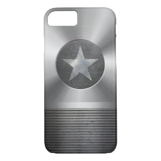 Steel & Metal Superhero Star Shield iPhone 8/7 Case