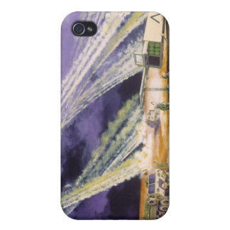 Steel Rain Desert Storm Missles by Frank M. Thomas iPhone 4/4S Cases