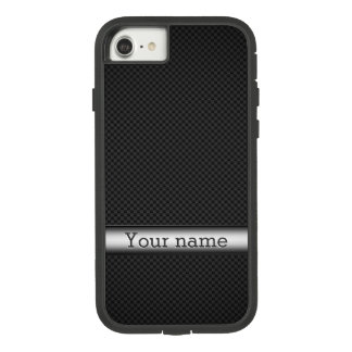 Steel striped carbon fiber Case-Mate tough extreme iPhone 8/7 case