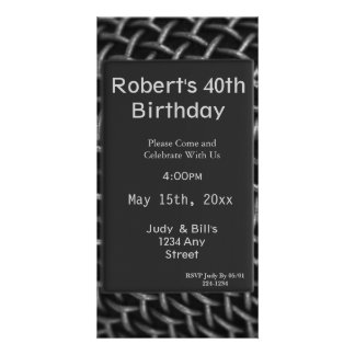 Steel Wire Birthday Picture Card