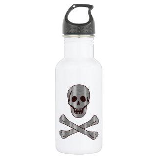 Steel Wood Pirate 532 Ml Water Bottle