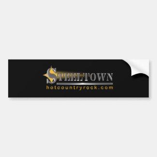 Steeltown Hot Country Rock Bumper Sticker
