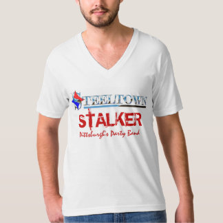 "Steeltown ""Stalker"" Men's V Neck T-Shirt"