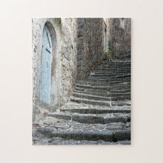 Steep Steps of Pontito Jigsaw Puzzle