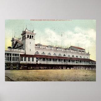 Steeplechase Pier, Atlantic City NJ 1909 Print
