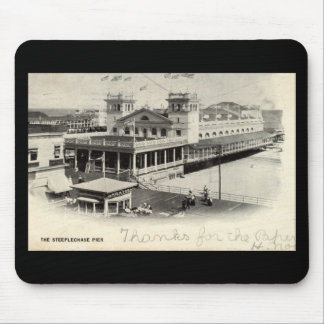 Steeplechase Pier Atlantic City Vintage 1904 Mouse Pad