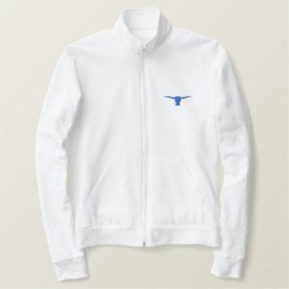 Steer Head Silhouette Embroidered Jacket