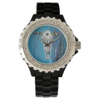 Steer Skull Women's Wristwatch
