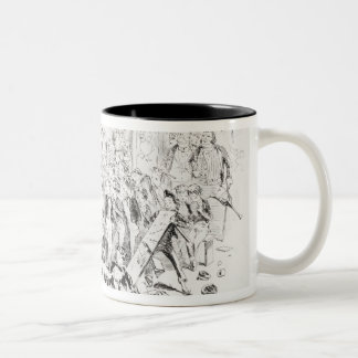 Steerforth and Mr. Mell Two-Tone Coffee Mug