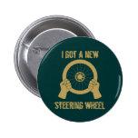 Steering wheel pin
