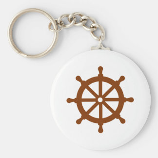 Steering wheel - ship key chain