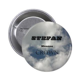 Stefan Pinback Button