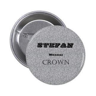 Stefan Pinback Buttons