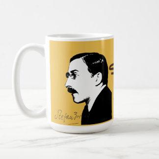 Stefan Zweig Basic White Mug