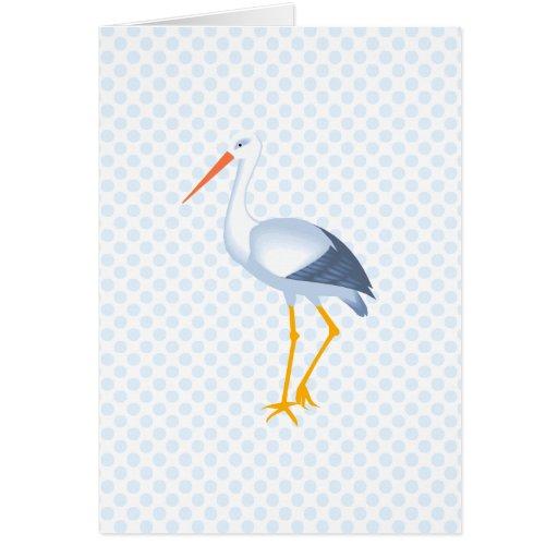 Steffi Stork Greeting Card