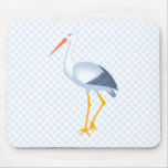 Steffi Stork Mouse Pad
