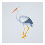 Steffi Stork Poster