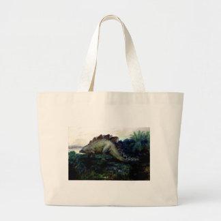 stegosaurus-4 canvas bag
