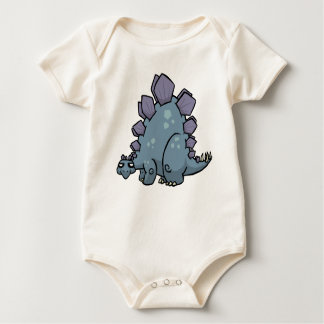 Stegosaurus Baby Grow Baby Bodysuit
