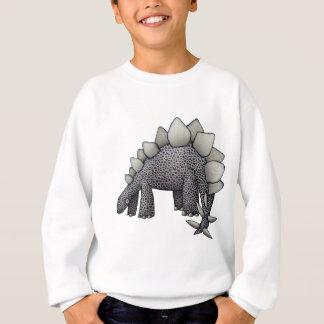 Stegosaurus Cartoon Sweatshirt
